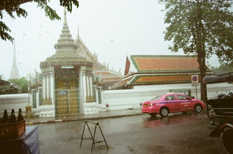 don't get caught in the Thai rain...
